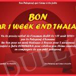 Week end thalasso pour 2