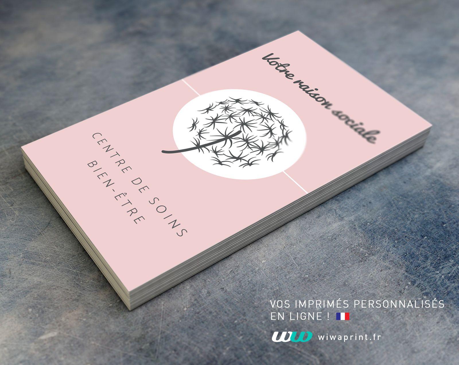 Carte De Visite Bien Etre Massage