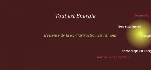 Bien etre energie vitale