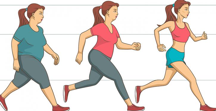 à perdre du poids