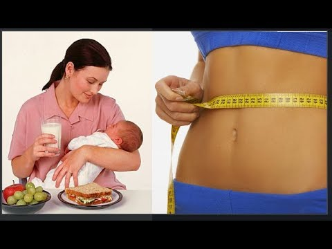 Astuce pour perdre du poids pendant l'allaitement