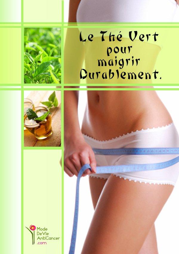 Perdre du poids avec du thé vert