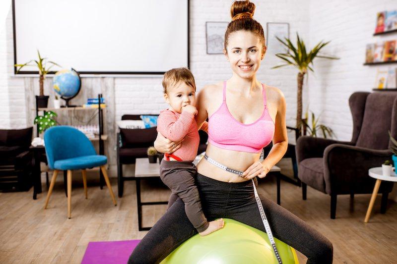Exercice pour perdre du poids après grossesse