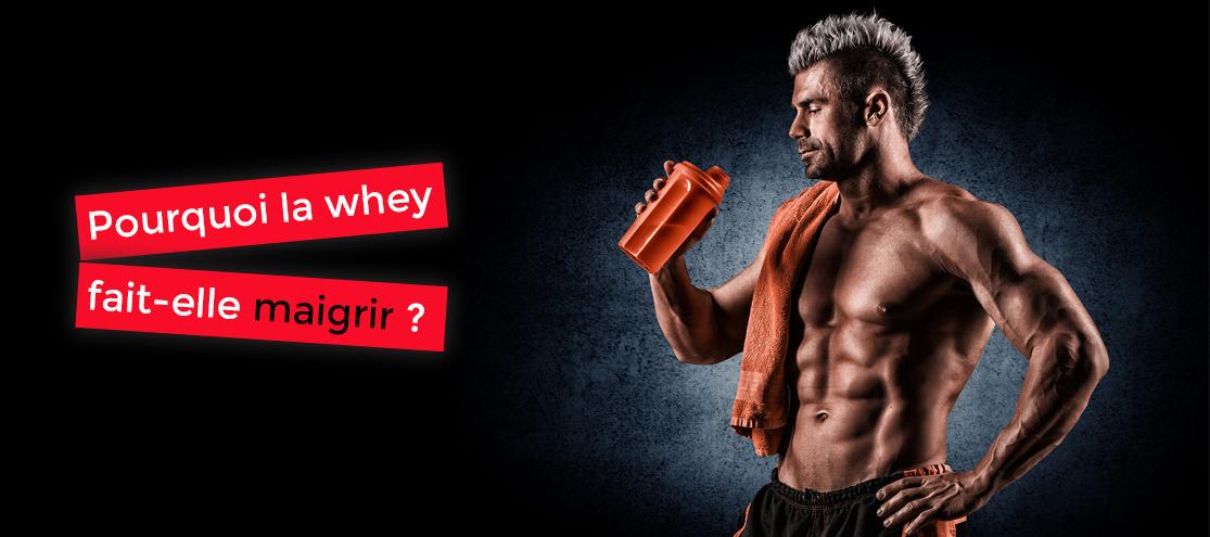Comment perdre du poids avec la whey