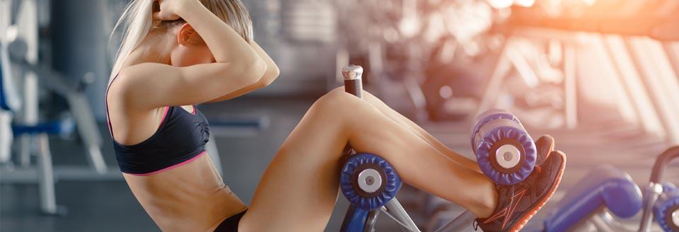Exercice avec des poids pour perdre du ventre