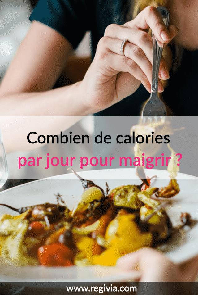 Combien bruler de calories pour perdre du poids