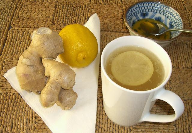 Perdre du poids avec du citron et du gingembre