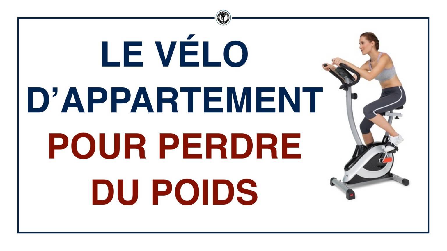 Le vélo d'appartement pour perdre du poids