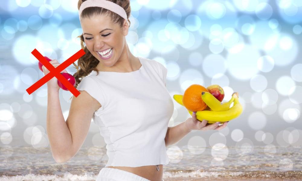 Perdre du poids sans sport possible