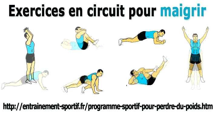 Exercice pour perdre du poids maison