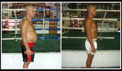 Perdre du poids camp thailande