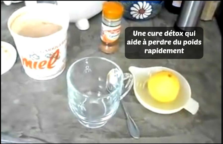 Recette au citron pour perdre du poids