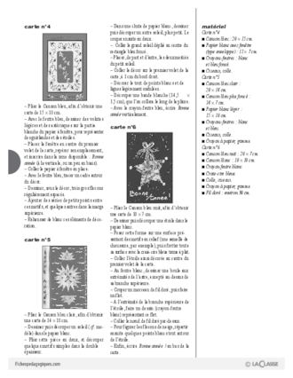 Carte voeux anglais cycle 3