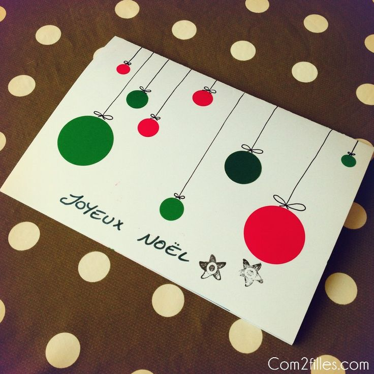 Faire carte noel avec photo