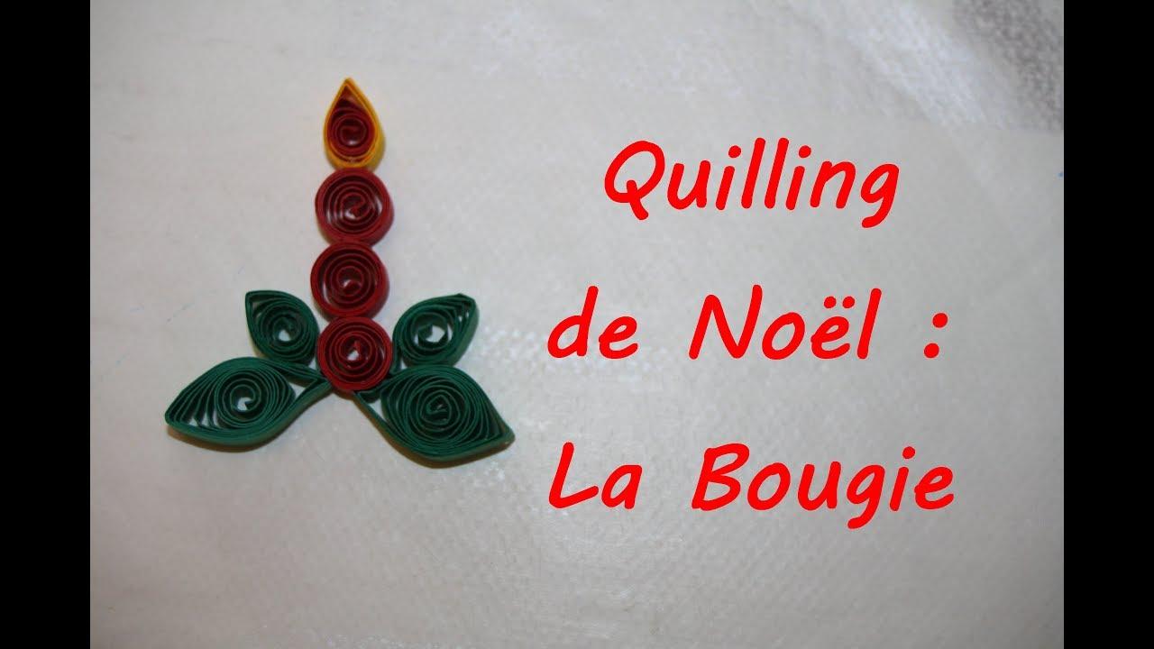 Carte quilling noel