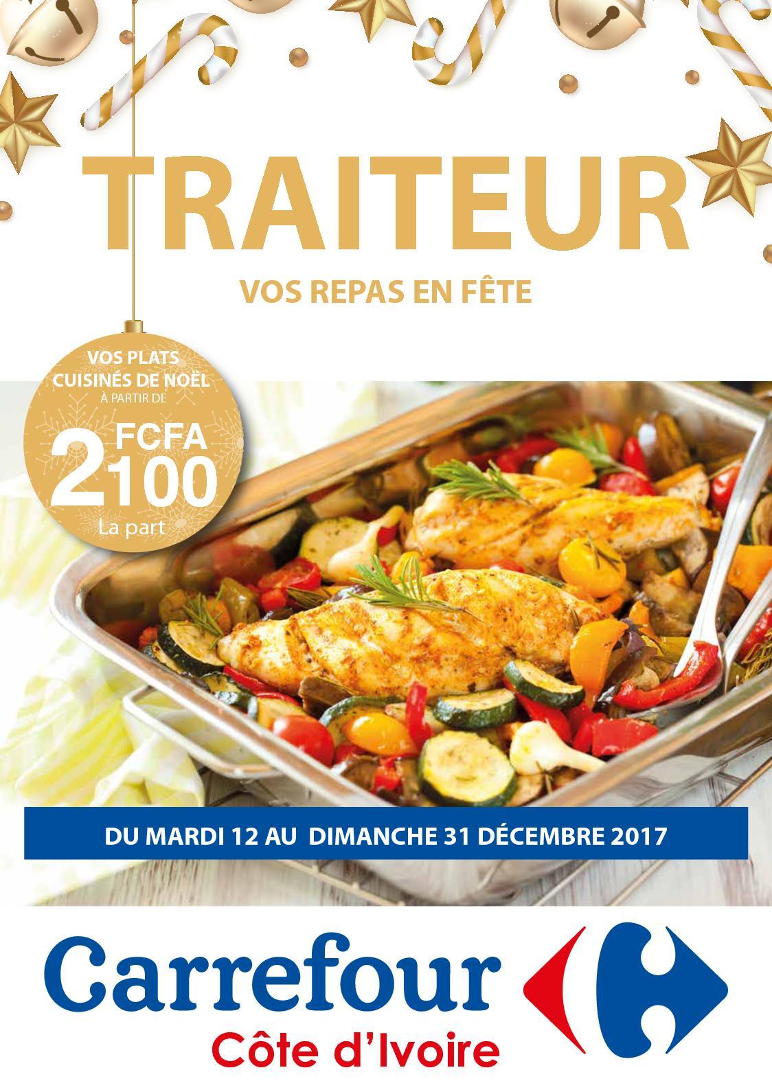 Carte traiteur noel carrefour - Apizen.fr