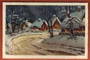 Carte postal de noel